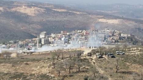 יהודים השליכו בקבוקי תבערה בכפר עוריף