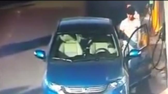 תיעוד: ניסיון כושל לגניבת רכב בשומרון