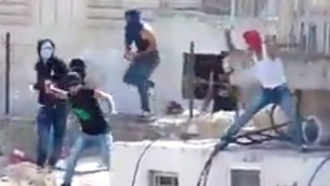 תיעוד: ערבים תוקפים מעון תינוקות בירושלים