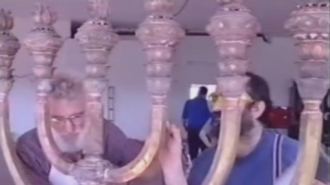 לקראת פרשת תרומה - המנורה בבית המקדש