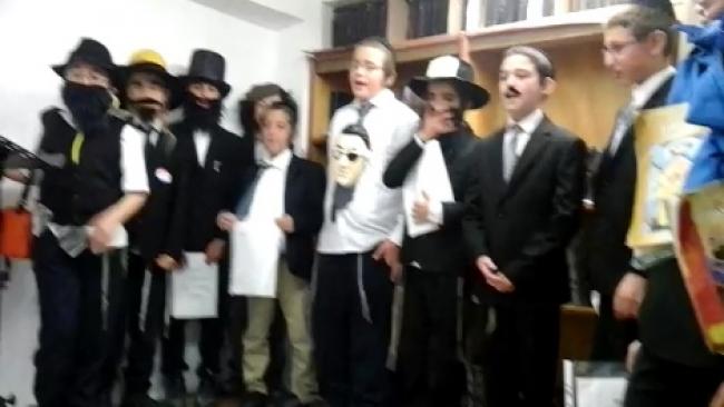 תחפושת מקורית: שרים במדינה יהודית