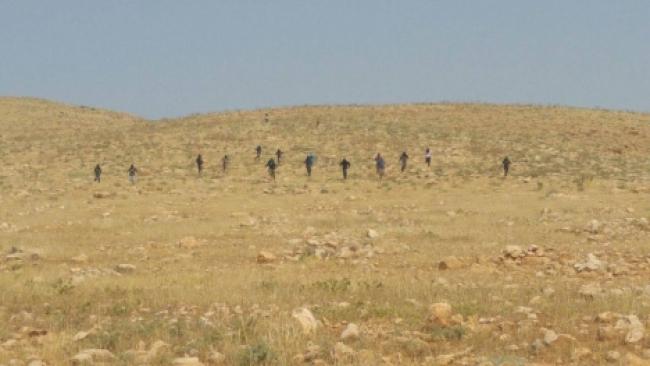 פעילי שמאל וערבים חדרו לשטחי אש והותקפו