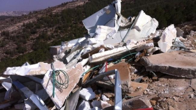 """צפו: הרס בתים בבת עין - תג מחיר של צה""""ל"""
