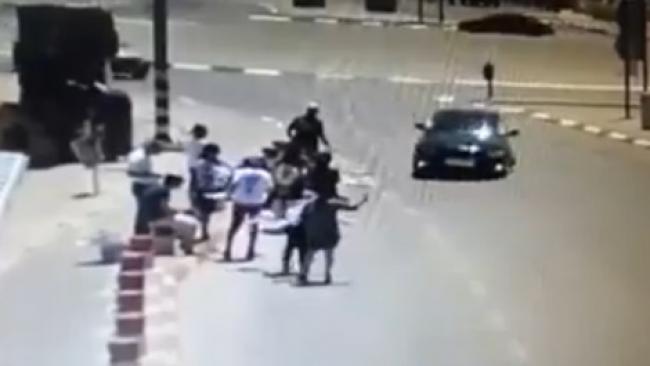 תיעוד: פיגוע דריסה בגוש עציון